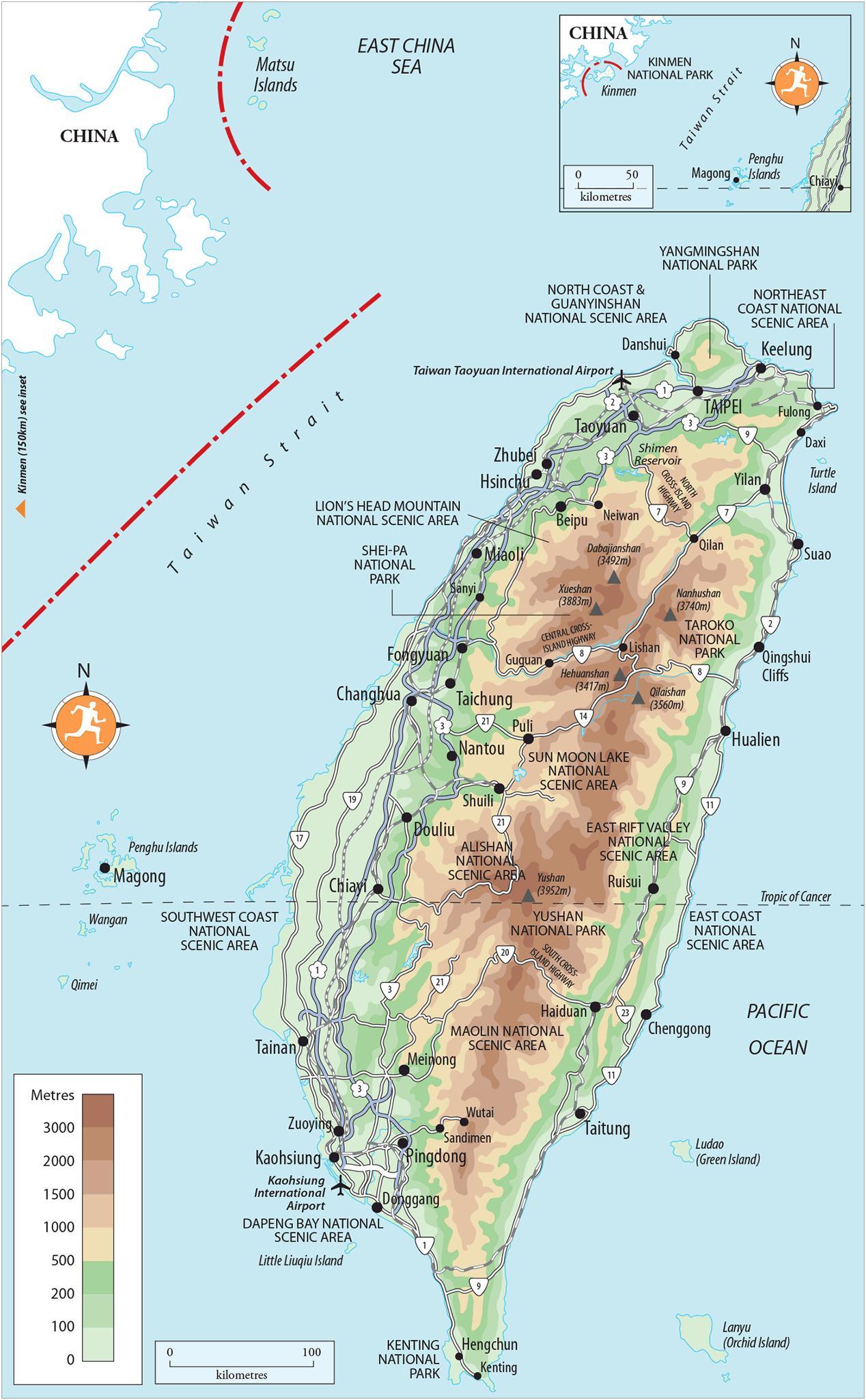 Carte Asie Taiwan.Kenting Taiwan Carte Carte De Kenting Taiwan Asie De L