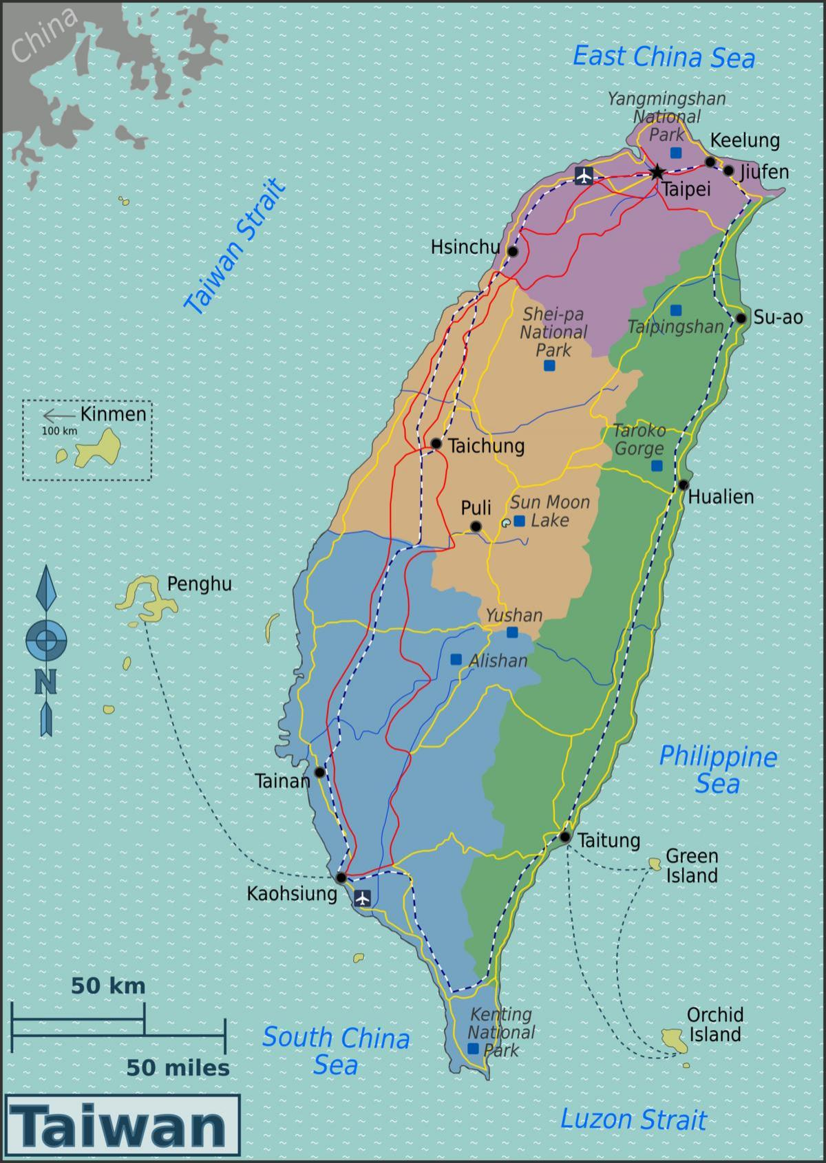 Carte Asie Taiwan.Taipei Taiwan La Carte Taipei Taiwan L Emplacement De